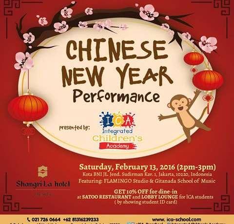 CHINESE NEWYEAR PERFORMANCE