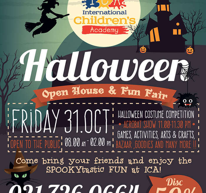 HALLOWEEN: OPEN HOUSE AND FUN FAIR