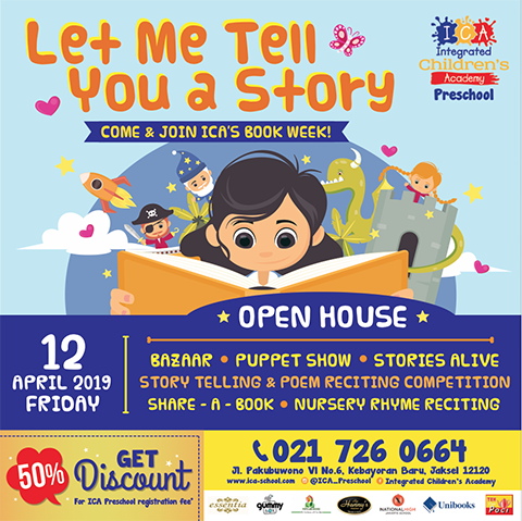 OPEN HOUSE – ICA's Book Week